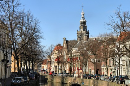 Architecture of Gouda in Holland